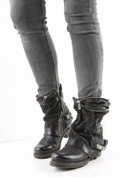 A.S.98 - Cowboy-/Bikerstiefelette - black
