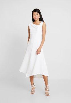 Closet - CLOSET A SYMMETRIC GATHERED DRESS - Cocktailkleid/festliches Kleid - ivory