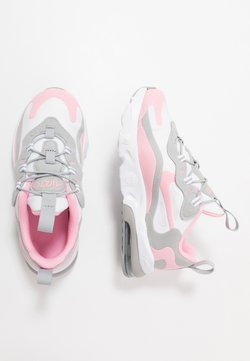 Nike Sportswear - AIR MAX 270 RT - Baskets basses - white/pink/light smoke/grey/metallic silver