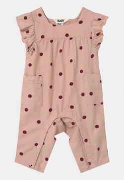 Cotton On - FRANKIE - Jumpsuit - peach whip/noir grape