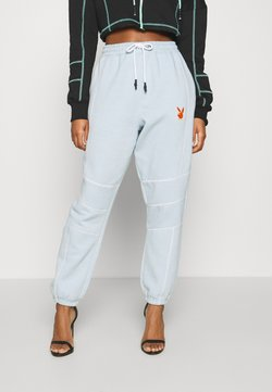 Missguided - PLAYBOY CONTRAST STITCH - Jogginghose - dusky blue