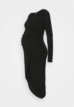Missguided Maternity - TIE DYE JOGGER - Jerseykleid - black