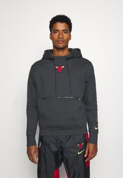 Nike Performance - NBA CHICAGO BULLS CITY EDITION HOODIE - Artykuły klubowe - anthracite