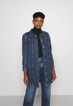 ONLY - ONLSMITH PADDED - Abrigo corto - light blue denim