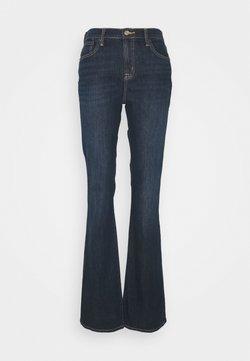 Gap Tall - PEARL - Jeans bootcut - dark rinse