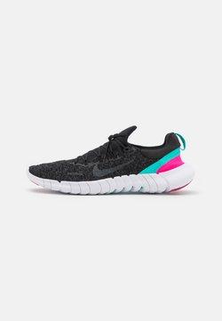 Nike Performance - FREE RN 5.0 2021 - Juoksukenkä/neutraalit - black/anthracite/dynamic turquoise