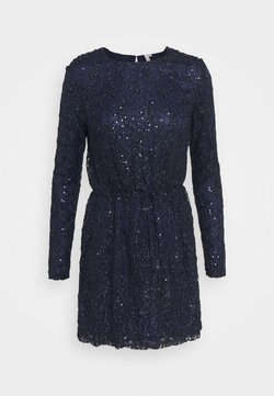 Nly by Nelly - SEQUIN DRESS - Vestido de cóctel - blue