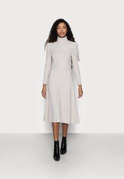 ONLY Petite - ONLNELLA ROLL NECK DRESS - Vestido de punto - pumice stone melange