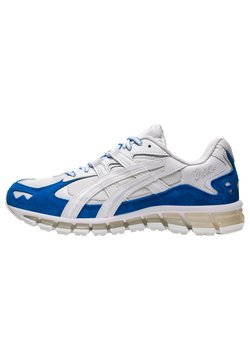 ASICS - GEL-KAYANO - Sneakersy niskie - white/electric blue