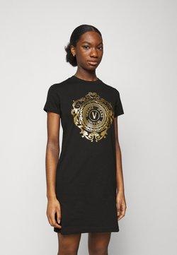 Versace Jeans Couture - Vestido ligero - black-gold