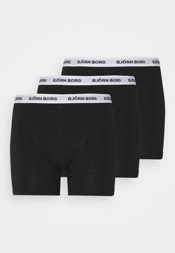 Björn Borg - SAMMY 3 PACK - Panties - black beauty