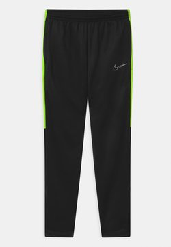 Nike Performance - ACADEMY WINTERIZED - Jogginghose - black/volt/reflective silver