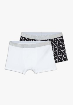 Calvin Klein Underwear - TRUNKS 2 PACK - Shorty - black