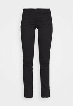 Vero Moda - VMDINA FLARED - Jean bootcut - black