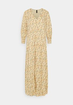 YAS - YASLAGI 3/4 ANKLE DRESS - Maxikleid - humus