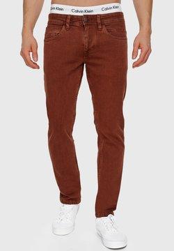 INDICODE JEANS - WOODS - Jeans slim fit - brown