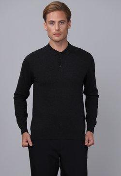 Basics and More - Strickpullover - black melange