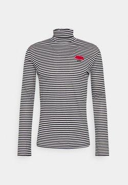 N°21 - Pitkähihainen paita - rigato/bianco/nero