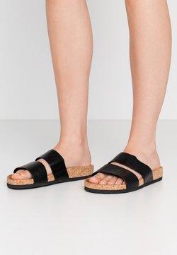 Monki - LIZA - Pantoffels - black