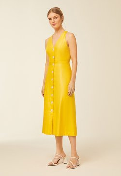 IVY & OAK - Vestido de cóctel - sun yellow