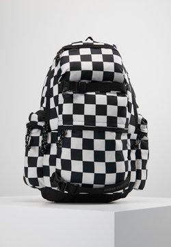 Urban Classics - BACKPACK CHECKER BLACK & WHITE - Reppu - black/white