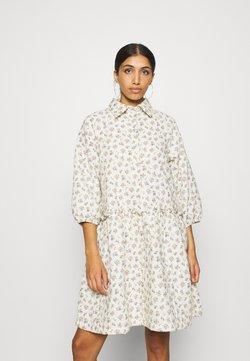 YAS - YASCALA QUILTED DRESS  - Skjortekjole - eggnog