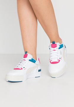 Puma - CALI SPORT MIX - Baskets basses - white/vaporous gray/digi/blue