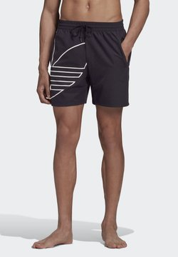 adidas Originals - Big Trefoil Swim Shorts - Szorty kąpielowe - Black