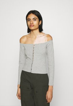 Even&Odd - Bluse - mottled grey