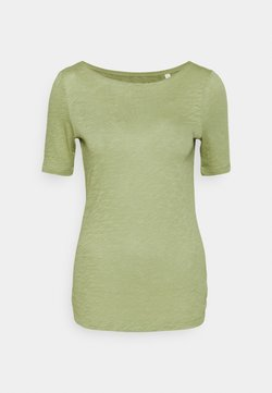 Marc O'Polo - SHORT SLEEVE BOAT NECK - T-Shirt basic - dried sage