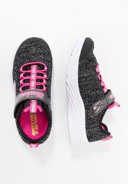 Skechers - DREAMY DANCER - Sneakers laag - black sparkle/neon pink