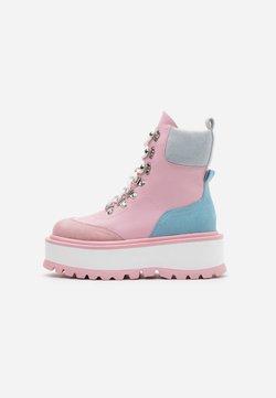 Koi Footwear - VEGAN HYDRA - Plateaustiefelette - pink