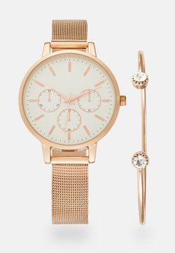 Anna Field - SET - Rannekello - rosegold-coloured