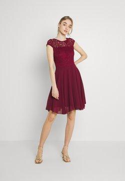 WAL G. - PEYTON SKATER DRESS - Cocktailkleid/festliches Kleid - burgundy