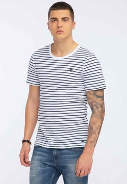 DreiMaster - T-Shirt print - dark blue