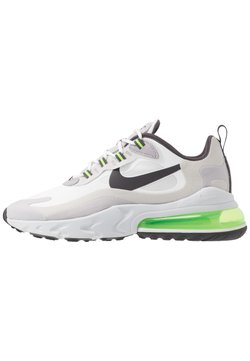 Nike Sportswear - AIR MAX  REACT - Sneakers laag - summit white/electric green/vast grey/silver lilac/thunder grey