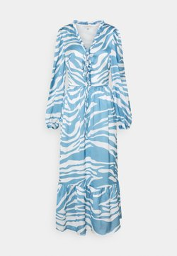 Never Fully Dressed Tall - ZEBRA MIDAXI - Maxikleid - blue