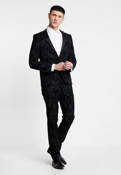 Twisted Tailor - VICTORY SUIT  - Anzug - charcoal