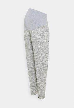 Dorothy Perkins Maternity - BRUSHED OVER BUMP JOGGER - Pantalones - grey marl