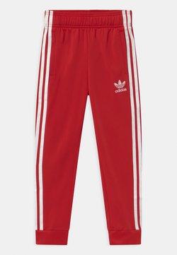 adidas Originals - UNISEX - Træningsbukser - scarlet/white