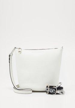 Calvin Klein Jeans - MINI BUCKET - Torebka - white