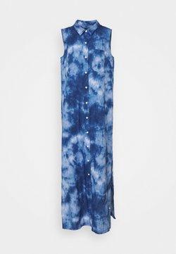 Gap Tall - DRESS MAXI TIE DYE - Maxikleid - blue
