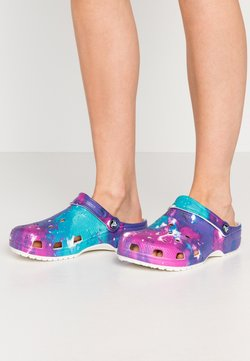 Crocs - Pantolette flach - white/purple
