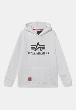 Alpha Industries - BASIC HOODY - Felpa con cappuccio - white