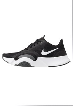 Nike Performance - SUPERREP GO - Sportschoenen - white/black/dark smoke grey