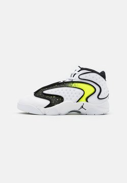 Jordan - AIR - Sneaker low - white/black/volt