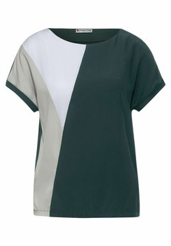 Street One - T-Shirt print - grün