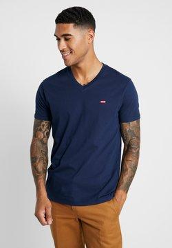 Levi's® - VNECK - T-shirt z nadrukiem - dress blues