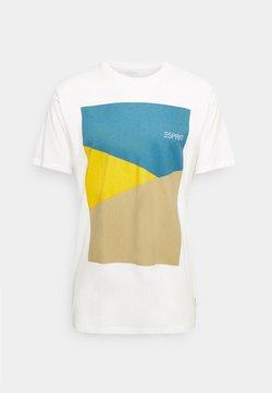 Esprit - PEACH - Printtipaita - off white