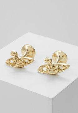 Vivienne Westwood - MINI RELIEF CUFFLINKS - Manschettenknopf - gold-coloured
